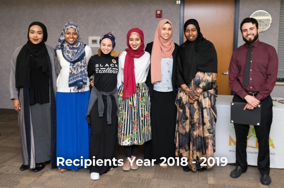 2018-19 Recipients